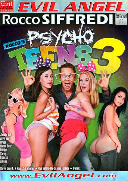 Rocco's Psycho Teens 3 Box Cover